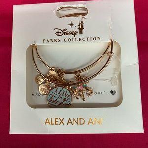 Alex and Ani Disney Fantasyland bracelet set